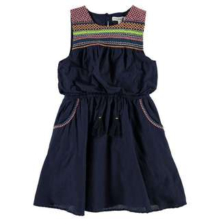 BNWT Girls French Connection Shirred Dress