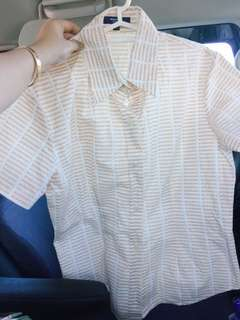 Authentic Burberry Vintage polo used once