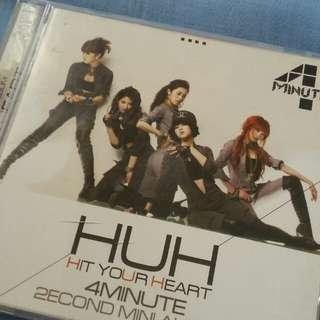 4 MINUTE HUH 2nd mini album