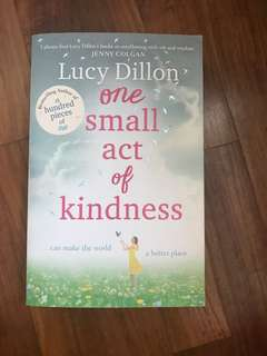 Lucy Dillon One small act of kindness novel