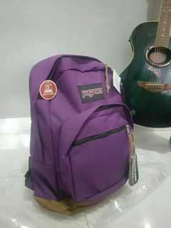 jansport rightpack purple original new with tag