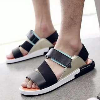 Korean Style Fashion Saddle 韓國涼鞋