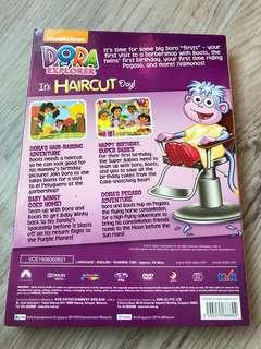 Dora Haircut day dvd