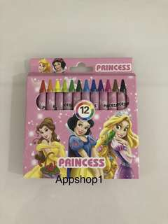 Princess theme party goodies bag, goody bag packages (crayon)