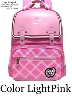 Ladies backpack size : 15 inches