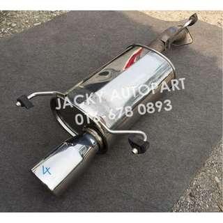 """Muffler Exhaust S. Steel FGK Wagolis Sflow 2.3"""" Jp"""