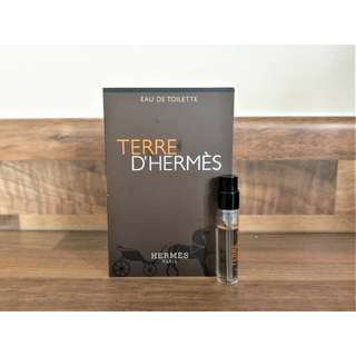 Authentic Terre D'Hermes 2ml Vial for Men SPRAY