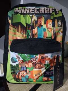 Minecraft jansport large authentic backpack