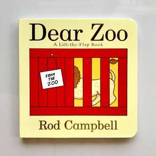 DEAR ZOO Board Book (A Lift-the-Flap Book)