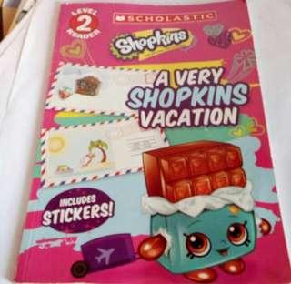 Shopkins a very shopkins vacation no sticker
