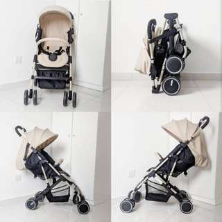 one hand fold & open Baby Stroller