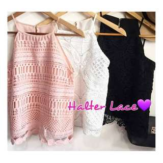 HALTER LACE (HIGH QUALITY S-M)