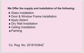 Services for Home & Business Establishments