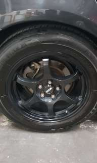 Ssr rims 16inch with tires