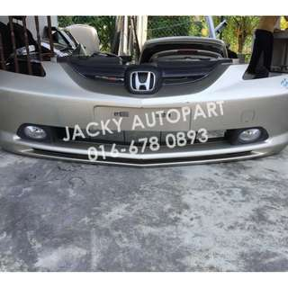 Bumper Depan w Spotlight Honda City Aria GD8 Japan