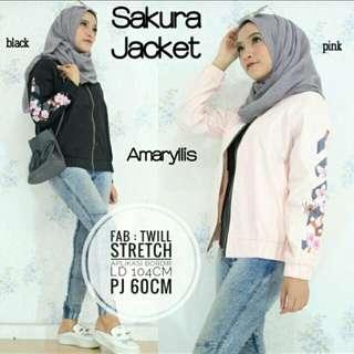 Jaket Wanita / Sakura Jacket