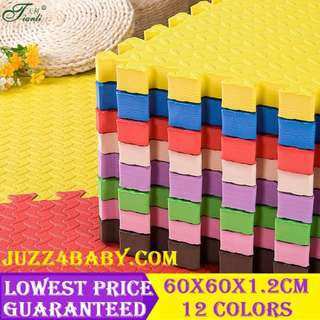 60cm x 60cm DIY Safety Baby Puzzle Play Mat