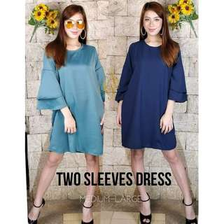 NEW TWO SLEEVE DRESS (PREORDER
