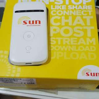Sun pocket wifi