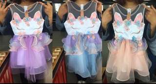 New unicorn dresses 12m to 8T