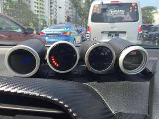 Car Gauges & Throttle Control