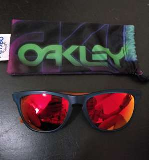 Authentic Oakley Frogskins Orange Lens