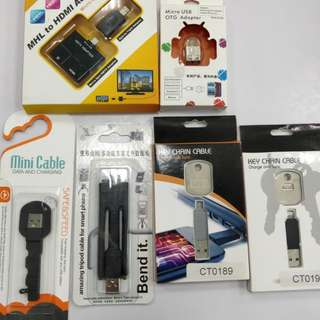 Adapter/Chain cable/mini cable/tripod cable