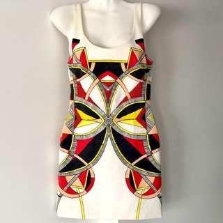Hunt No More Multi Dress Size 6