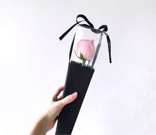 Single Stalk Rose Bouquet