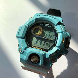 珍藏全新 Casio G Shock Rangeman GW-9402KJ-2 Love The Sea and The Earth