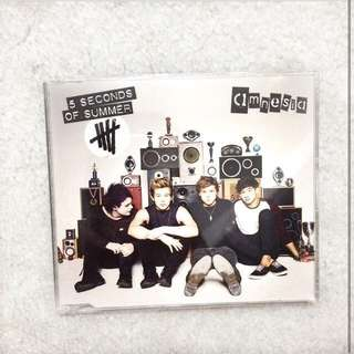 5 seconds of summer Amnesia ep CD