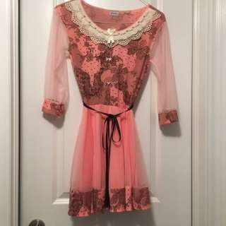 Korean Style Dress Small