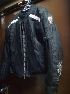 Motorcycle racing jacket protective for women