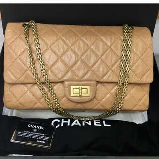 Authentic Chanel Reissue 227 Flap Bag