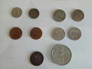 Old Coins x 10