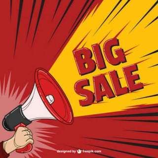 Big Sale Ngabisin Stok All Item Discount 50%