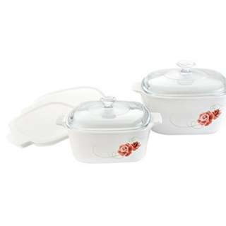 *Free delivery *Corningware Meal Maker Set Design, Rosetta