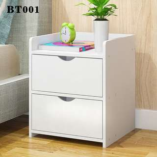 Small bed-side table in White (Ready Stock)
