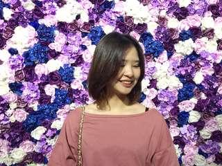 🚚 春夏限定✨薔薇平口上衣