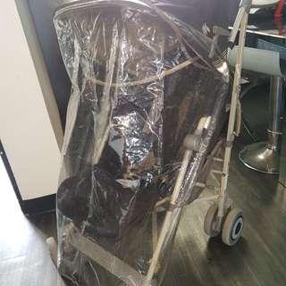 Maclaren stroller/ pram rain cover