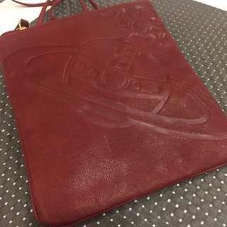 Vivienne Westwood London Leather Shoulder Bag