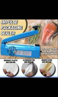Impulse packaging sealer