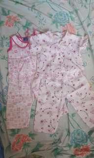 Pajama terno (2 sets)