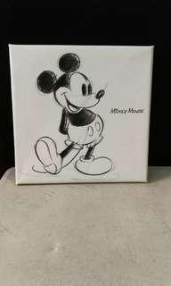 disney mickey mouse canvas by art deli dsn 0151 japan sale