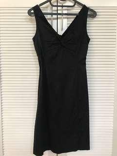 Mango little black dress