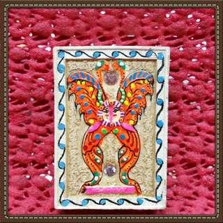 Butterfly Amulet phra kruba krissana