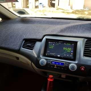 Honda civic FD dashboard mat