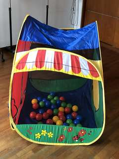 Play Tent with balls