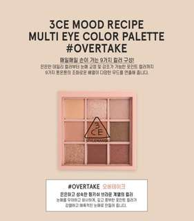 READY STOCKS | Stylenanda 3CE Mood Recipe Multi Eye Color Palette #Overtake