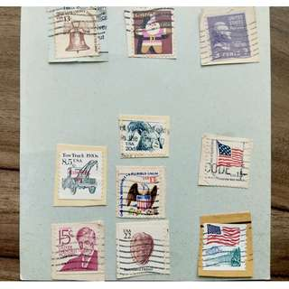 [RARE] USA Stamps Set 002